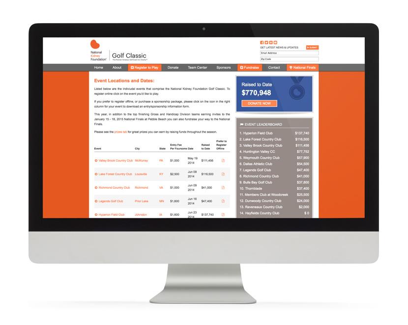 NKF Website Registration Page