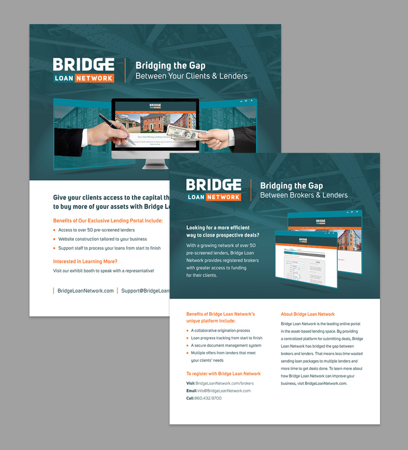 Bridge Loan Network Marketing Sheets